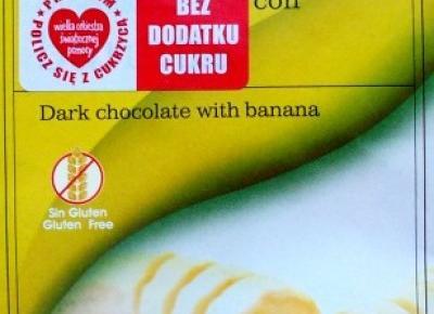 Czekolada gorzka z bananami - Chocolates Torras