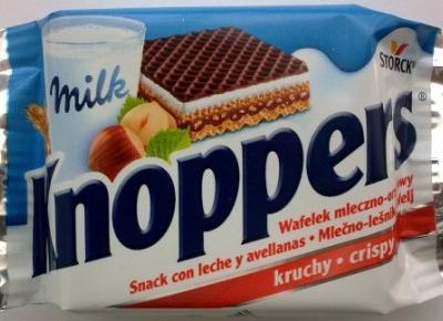Wafelek nadziewany Knoppers - Storck