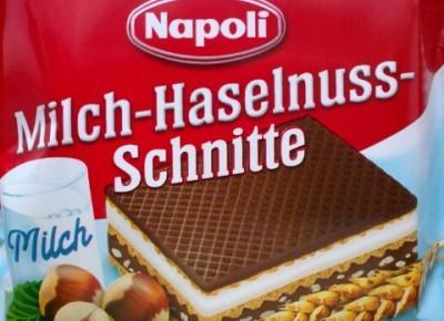Milch-Haselnuss-Schnitte - Napoli