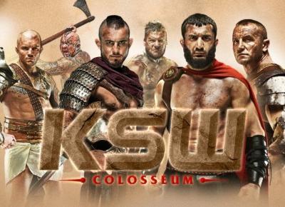 KSW 39 Colosseum -Historyczne wydarzenie sportowe pełne gwiazd MMA