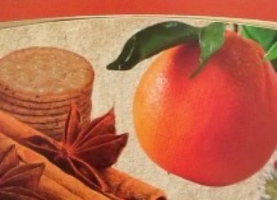 Czekolada Orange & Cinnamon - Heidi