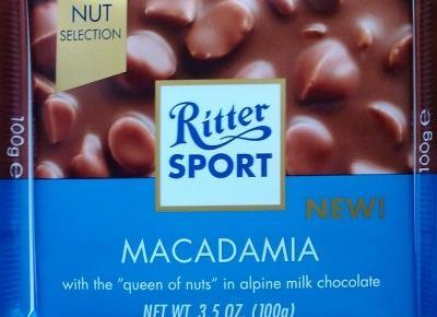 Czekoladowe nowości w Auchan (czekolada macadamia, pierniki, wafelek)