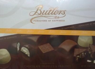 A Selection of Chocolate Truffles & Pralines - Butlers Chocolate