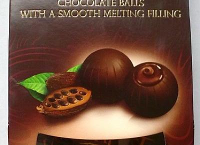 Kulki czekoladowe Twister z nadzieniem - Łużyckie Praliny
