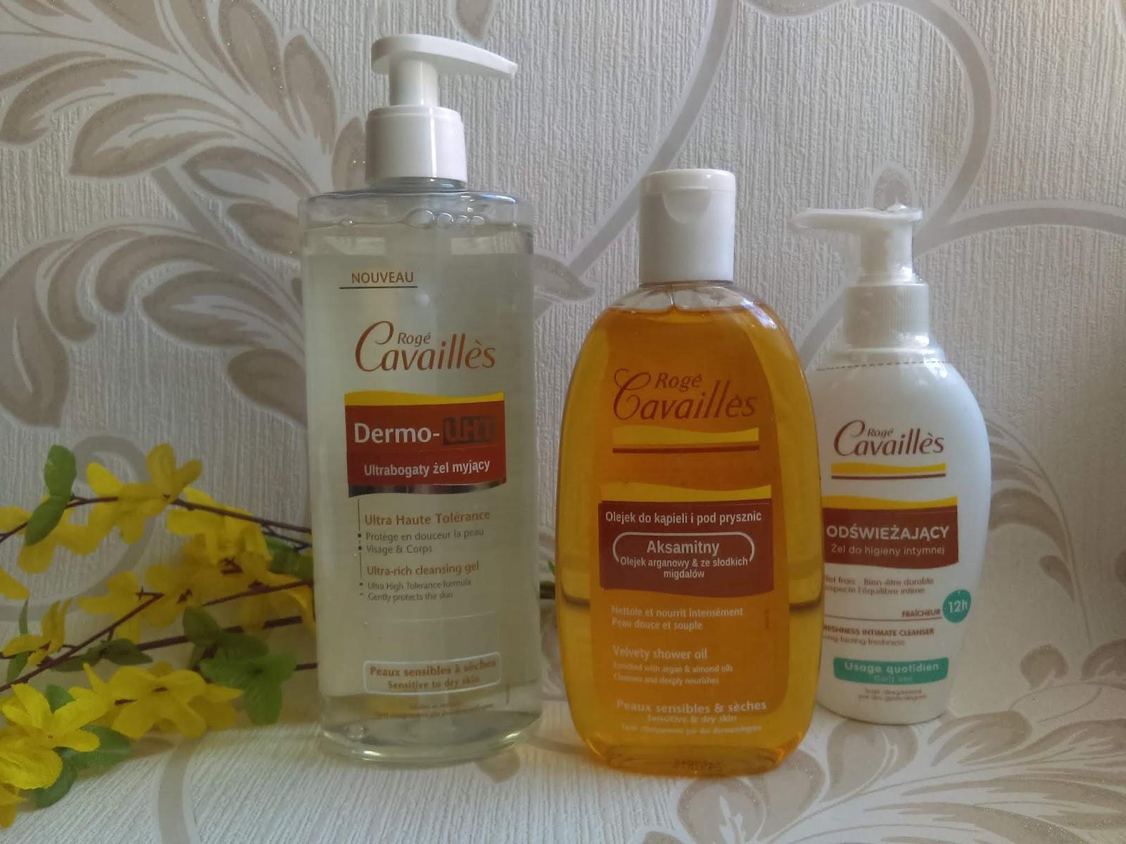 Cosmetics reviews : Dermokosmetyki  ROGE CAVAILLES - skuteczna i przyjemna pielęgnacja ciała.