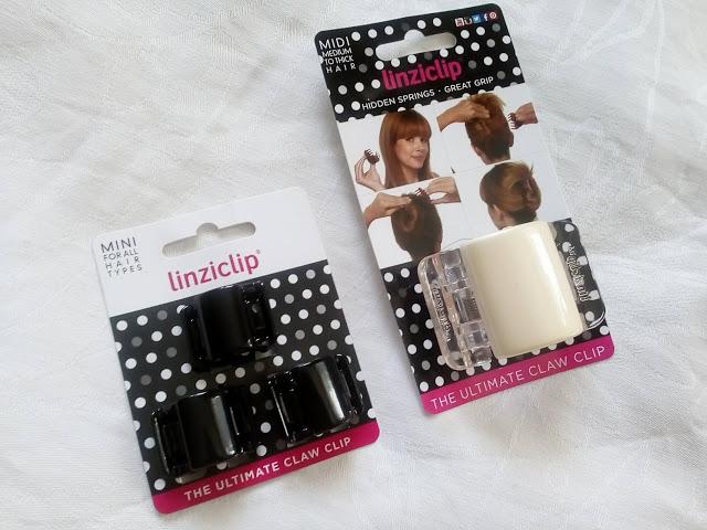 Cosmetics reviews : Klamry LinziClip - alternatywa dla gumek do włosów.