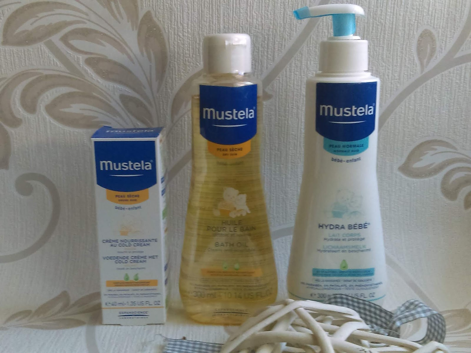 Cosmetics reviews : Mustela - kosmetyki do pielegnacji delikatnej skóry maluszków