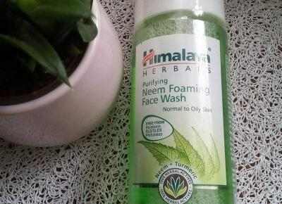 Pianka do mycia twarzy z neem / Himalaya Herbals - Cosmetics reviews blog