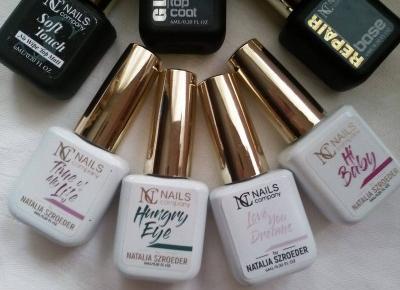 Cosmetics reviews : Manicure hybrydowy - lakiery NC Nails Company