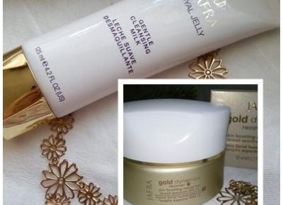 Cosmetics reviews : Podaruj sobie odrobinę luksusu - Krem ze złotem z serii Dynamics Gold od Jafra Cosmetics