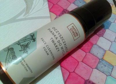Cosmetics reviews : Oczyszczająca pianka do mycia twarzy / Nature Queen