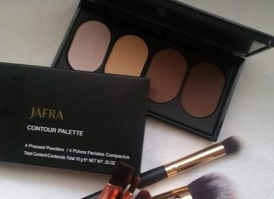 Cosmetics reviews : Paleta do konturowania - Jafra Beauty