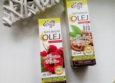 Cosmetics reviews : Domowa aromatoterapia - oleje naturalne i olejki eteryczne Etja