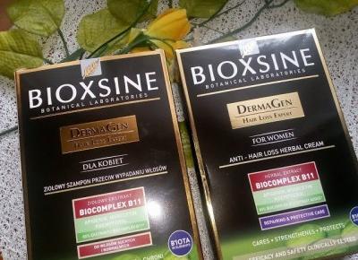 Bioxsine DermaGen - szampon i odżywka z myślą o kobietach - Cosmetics reviews blog