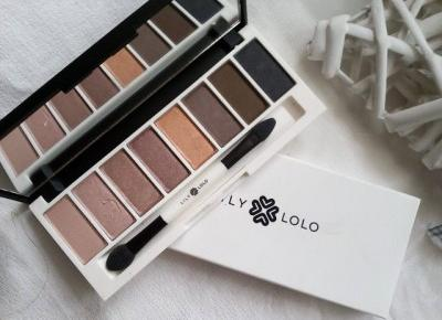 Cosmetics reviews : Laid Bare Eye Palette - paletka cieni w moich ulubionych kolorach.