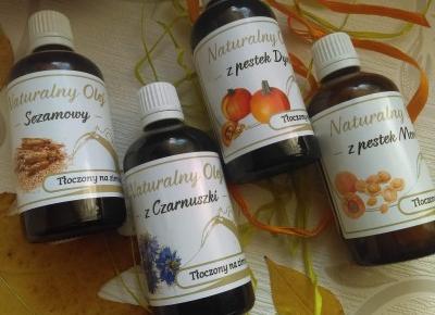 Cosmetics reviews : Oleje w pielęgnacji - jaki wybrać?