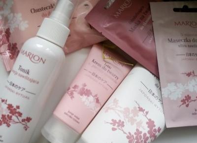 Cosmetics reviews : Sekret młodości w kosmetykach Marion - Japoński rytuał