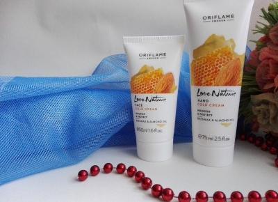 Cosmetics reviews : Love Nature - kosmetyki, które ukoją nasza skórę zimą.