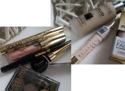 Cosmetics reviews : Eveline Cosmetics / Kosmetyki do makijażu