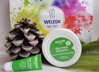 Cosmetics reviews : Zapomnij o przesuszonej skórze z Weleda Skin Food