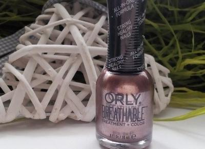 Cosmetics reviews : Lakier do paznokci Orly Breathable - Kolor i odżywienie paznokci za jednym razem