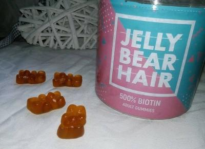Cosmetics reviews : Jelly Bear Hair - witaminy na włosy w formie żelek