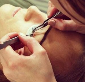Beautiful eyelashes..