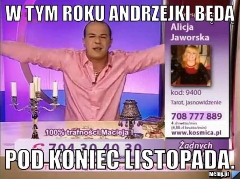 Andrzejki 2018: Oto najlepsze MEMY Andrzejkowe. Zobaczcie, jak Internauci śmieją się z Andrzejek