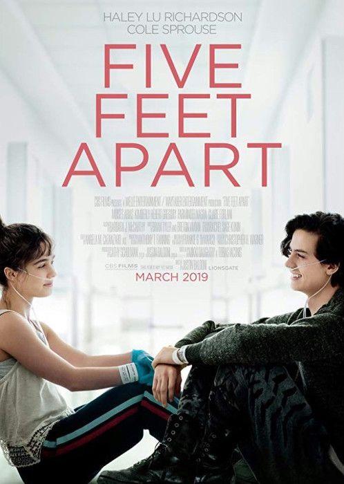"""Cole Sprouse w filmie """"Five Feet Apart"""" - pojawił się zwiastun!"""