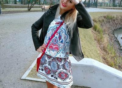 """Influencer on Instagram: """"W końcu mróz odpuścił ______________________________ #pakuten #pakutenpl #sukienka #dress #bohostyle #hippie #outfitoftheday #outfit…"""""""