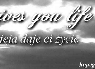 Hope gives you life - Nadzieja daje ci życie: Tak często nie chcemy pomagać, zwracając tylko uwagę na pozory. - Moje przemyślenia