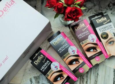 Żelowa henna do brwi i rzęs Delia Cosmetics | INSZAWORLD - blog