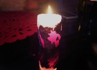 Blogmas 17.12 – Świece DIY | INSZAWORLD - blog
