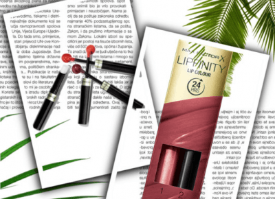 Max Factor Lipfinity trwała szminka z balsamem | INSZAWORLD - blog