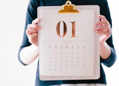 Najlepsze Planery 2018 - przegląd kalendarzy | chillife.pl