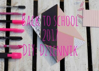 Imm: Back to school #3 DIY: dziennik