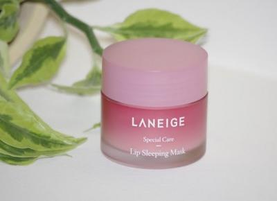 Black Liner: Laneige Lip Sleeping Mask