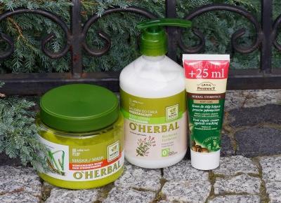 Black Liner: Pielęgnacja ciała z Elfa Pharm w wykonaniu O'Herbal i Green Pharmacy