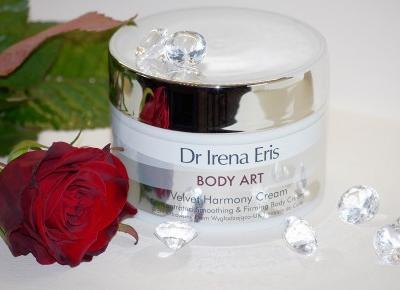 Black Liner: Balsamujemy się, czyli Dr Irena Eris Body Art Skoncentrowany Krem Wygładzający do Ciała Velvet Harmony Cream
