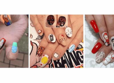 15 pomysłów na paznokcie inspirowane serialami Netflixa!