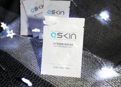 Świat obiektywem Janettt: O2SKIN Mocno skoncentrowane serum tlenowe (30%tlenu) próbki z nową formułą