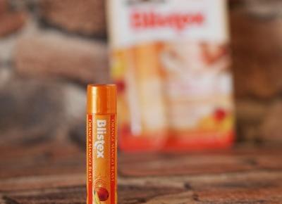 Świat obiektywem Janettt: Blistex Orange Mango, balsam do ust, sztyft, SPF 15