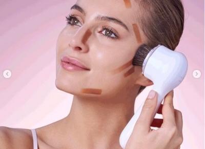 Soniczne blendowanie makijażu - efekt jak filtr z Photoshopa