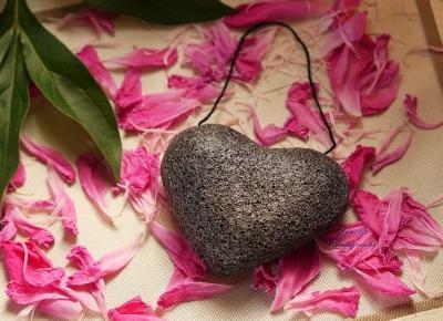 Świat obiektywem Janettt: Gąbka Konjac w kształcie serca - Aliexpress