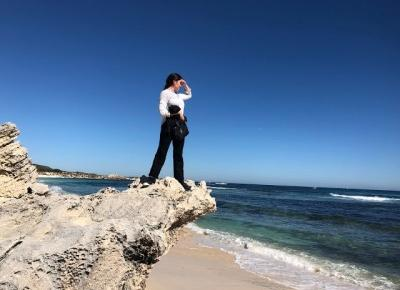 Ricey Beach i latarnia morska z tajemniczą historią, Rottnest Island cz. III