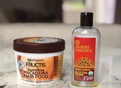Hair Hour #19 Hair Food: Macadamia + olej Jojoba