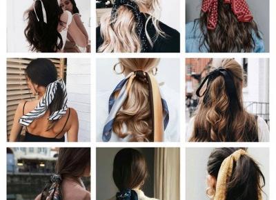 Włosowe inspiracje:MARZEC