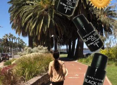 Olej z czarnuszki jako ratunek przed słońcem + indeks UV