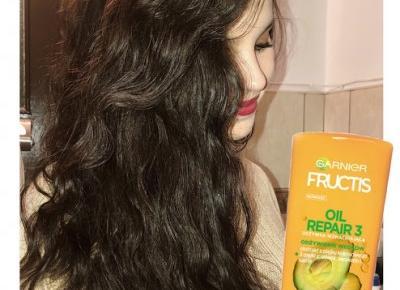 Niezastąpiony produkt mojej włosowej przemiany: Garnier Fructis Oil Repair 3