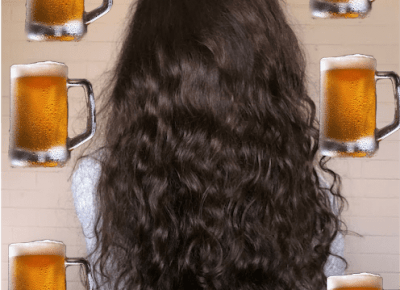 Płukanka piwna - efekty po 5 tygodniach